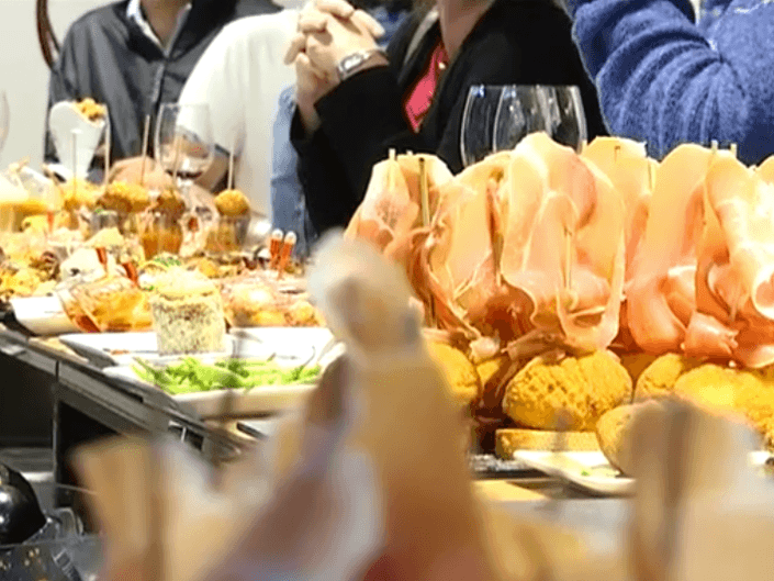 La barra del restaurante Pasión por ti