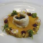 ASÍ SE HACE: Lubina rellena de mar con placton de quinoa y algas