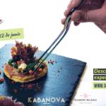 Cena Maridaje en Restaurante Kabanova con Bodegas Ramón Bilbao este jueves día 22
