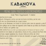 Kabanova lanza su nuevo Menú Gastronómico con 11 platos de degustación