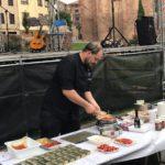 El chef de El Pasión Por Ti en el X Festival del Pimiento Najerano